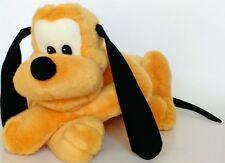 "Disney Pluto Dog Plush Stuffed Animal Big Yellow Puppy Fun Soft Cuddly Toy 17"""