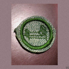 1930s HOME NURSE Girl Scout Badge Hospital Bed 1937 Silver Grn Multi=1 Ship Chrg