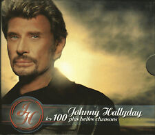 Coffret JOHNNY HALLYDAY, Les 100 plus belles chansons 5cd