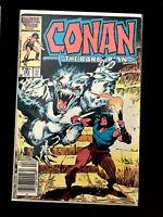 CONAN THE BARBARIAN VOL.1 #181 MARVEL COMICS 1986 FN/VF NEWSSTAND EDITION