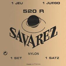 Savarez 520R Red Card Hard Tension Classical Guitar Nylon Strings