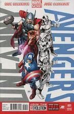 Uncanny Avengers #1 Avengers Variant Comic Book - Marvel