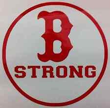 B STRONG (Redsox B) vinyl decal