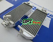 For Suzuki RM 250 RM250 2-stroke 1996 1997 1998  Aluminum radiator L&R