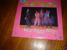 THE BOPCATS LP ROCKABILLY WILD JUNGLE ROCK 81 BOP CATS