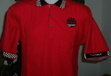 Mac Tools Racing PIT CREW Polo Shirt Size SMALL 100% Cotton NEW