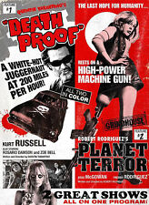 GRINDHOUSE_ DOUBLE 2_LAMINATED POSTER_TARANTINO