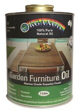 Organoil 100 Pure Natural Oil Garden Furniture Oil 1litre