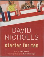 David Nicholls Starter For Ten 10 2 Cassette Audio Book Abridged David Tennant