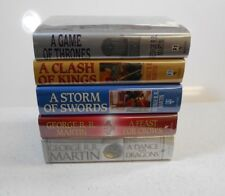 A Game of Thrones SET by George R.R. Martin, SIGNED, BookClub, HC/DJ, HBO Series
