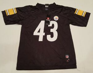 NWT! Polamalu Pittsburgh Steelers Jersey Reebok Team Apparel Youth Large (18-20)