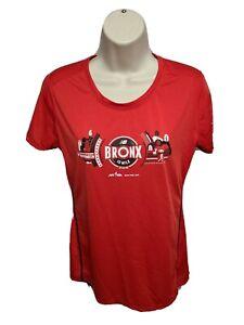 2016 New Balance New York Road Runners Bronx 10 Mile Run Womens M Red Jersey