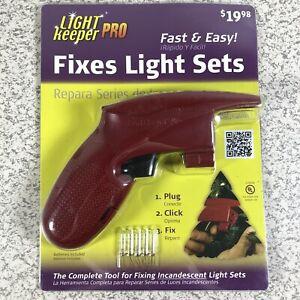 Light Keeper Pro Complete Tool Fix Repair Miniature Sets Christmas Lights NEW
