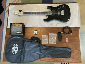 Electric Guitar and Amp Kit - Full Size Instrument w/ Humbucker Pickups Bundle