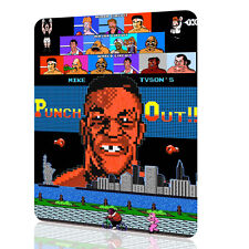 METAL TIN SIGN Punch Out Mike Tyson Video Game Nintendo Arcade Retro Vintage Art