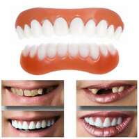 Facettes en silicone faux faux blanc dents simulation cosmétique dentier