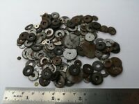 Selection of Vintage Pocket Watch Spare Parts - Mixed Wheels for Watchmakers W33