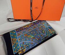 Hermes Au Pays Des Oiseaux Cashmere Shawl Wrap XL Scarf 140cm NEW