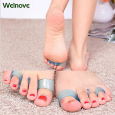 2Pair Silicone Toes Separators Pain Relief Toe Pad OrrectionO Pain Relief Z41002