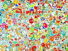 Buy 1 get 1 free Stickers Laptop Skateboard Bomb Decals Luggage Dope Lot Mix A