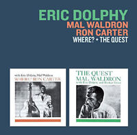 Eric Dolphy/Mal Waldron/Ron Carter : Where? + the Quest CD (2018) ***NEW***