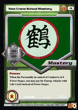 Dragon Ball Z Dragonball Online DBZ Crane School Mastery Custom Made Card