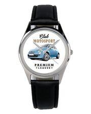 KIESENBERG® Uhr mit Auto Motiv für Fiat 500 Fahrer 10149-B