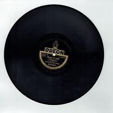 78T ORCHESTRE MONTPARNASSE Disque Phonographe LA JAVA DE JADIS - ODEON 279567