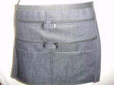 Denim Market Trader Money Belt, Bag, Adjustable Waist band 6 Pocket UK
