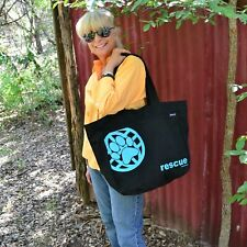 Pet Rescue Tote Bag Animal Rescue Market Bag Fair Trade