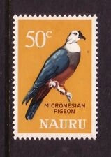 BIRDS on Stamps....  Nauru  50c pigeon  mint