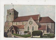 Seaford Church Vintage Postcard 678a