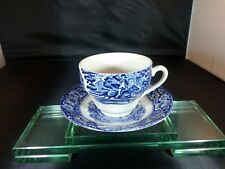 Liberty Blue Historic Colonial Scenes Cup Saucer Set