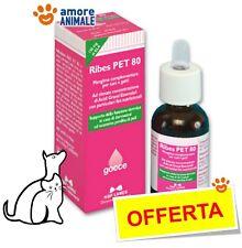 Ribes Pet 80 Gocce 25 ml per CANI e GATTI - Funzione dermica cute, perdita pelo