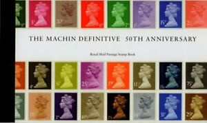 2017 GB Machin 50th Anniversary DY21 Prestige Stamp Booklet MNH Excellent