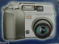 OLYMPUS CAMEDIA C-3020 digital CAMERA AF ZOOM For Parts  JAPAN photo video