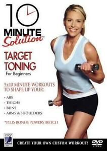 10 Minute Solution - Target Toning DVD New & Sealed Home Exercise Work Out