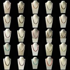 "Fashion Natural 8mm Akoya Cultured Shell Pearl Necklace 18"" AAA (10 Color)"
