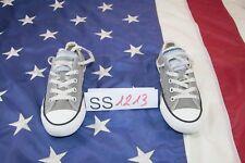 Scarpe Converse N.36 Cod. SS1213 donna tela basso usato grigio