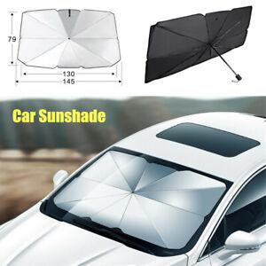 Car Front Windshield Umbrella Sunshade Folding Sun Shade SUV Window Sunscreen