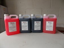 Chemical Toilet Fluid Contract Blue/Pink (Boats,Camping,Caravans,loo) 4 x 2.5 l