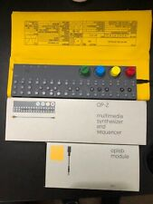 Teenage Engineering OP-Z Synthesizer & OPLab Expander Card, OPZ Case & 3D knobs