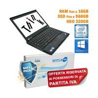 "COMPUTER NOTEBOOK LENOVO THINKPAD X230 I5 3210M 12,5"" WINDOWS 10 PRO PER P.IVA-"