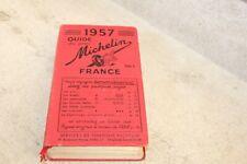 beau guide rouge Michelin France 1957  (voir photos)