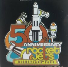 DISNEY CAST EXCLUSIVE ROCKET JETS 50TH ANNIVERSARY LE 500 SPINNER PIN