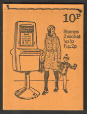 DN65 1974 Pillar boxes 10p Stitched Booklet - good condition UNMOUNTED MINT