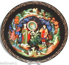 Russische Legenden ~  8. Bradex Sammelteller ~ Die Blume aus Edelstein