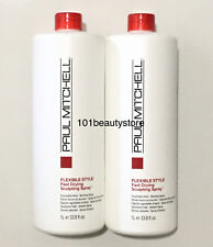 Paul Mitchell Flexible Style Fast Drying Sculpting Spray 33.8 oz (PACK OF 2)