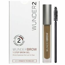 Wunder2 Wunderbrow 1-Step Brow Gel Perfect Eyebrows Blonde New & Sealed