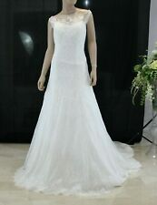 Abito da Sposa Nicole Joab19463  Wedding Dress Bridal  Matrimonio Taglia 50 IT